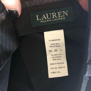 Ralph Lauren men black pants